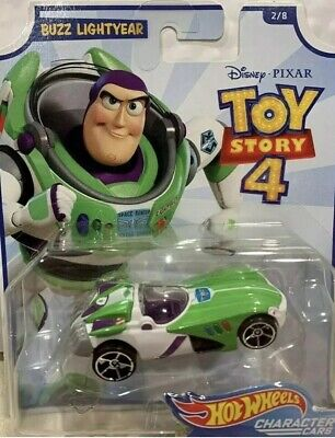 Buzz Lightyear Disney Pixar Toy Story 4 Mattel Hot Wheels Die Cast Car Sealed