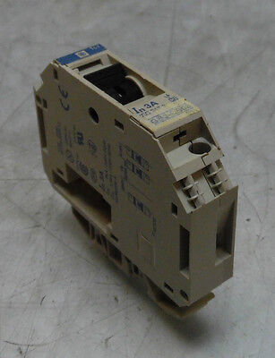 Telemecanique 4 Amp Circuit Breaker Warranty # GB2-CB09 Used