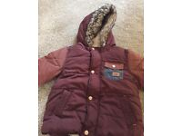 Little boys winter coat by next size 1.5-2yrs