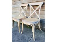 Pair of Two Bentwood Bergere Chairs