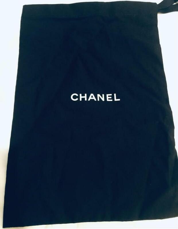 "Chanel Shoe Dust Bag 14"" x 9 1/2"""