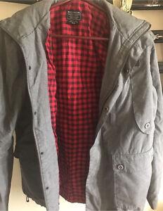 Dc skate jacket hoodie warm winter grey jacket Werribee Wyndham Area Preview