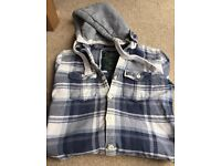 Superdry Button Up Hoody Jacket