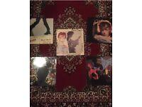 David Bowie vinyl records x5