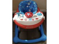 Graco Baby Boy Activity Walker Car in Chip AS NEW