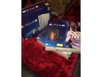 PS4 Pro 1TB (Black With Fifa 18 Bundle) and PS4 Pro 1TB (white no games)