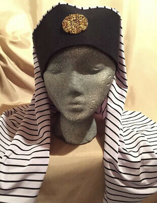 Pharaoh Adult Nativity Costume Accessory Pageant Arab BIBLICAL Mantle Head Piece