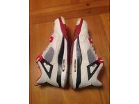 Nike Air Jordan Retro 4 Basketball Trainers Shoes UK 10
