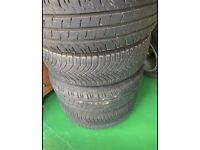 Volkswagen VW Steel wheels great tyres