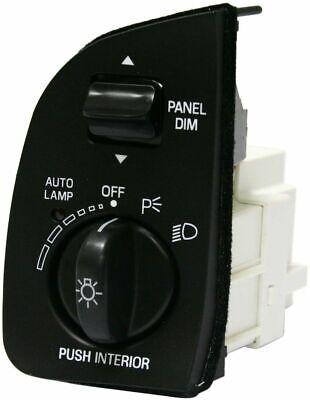 New Headlight Switch Lamp Black Mercury Grand Marquis Ford Crown Victoria - Mercury Marquis Headlight Switch