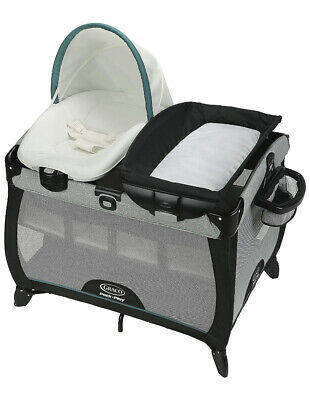 Graco Baby Pack 'n Play Quick Connect Portable Napper Playard Darcie NEW