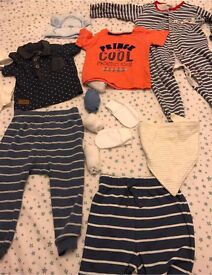 C x15 items mixed ages from 3-12 months some new