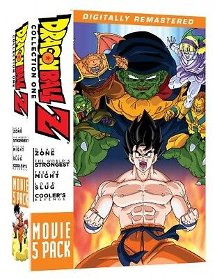 Dragon Ball Z  Movie Pack  Collection One  Movies 1 5   New  Free Shipping