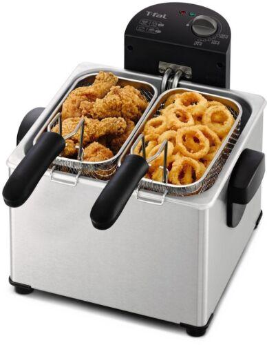 T-fal FR3900 Deep Fryer, Electric Deep Fryer, Stainless Stee