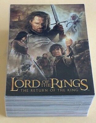 2004 Topps Lord Of The Rings Return Of The King Update Trading Card Set NM-MT