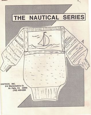 The Nautical Series by Knitech Sweater Template & Charts for Machine Knitting