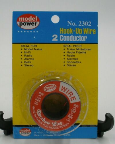 Model Power #2302 Hook-Up Wire 2 Conductor