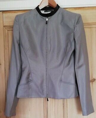 Alexander McQueen vintage 2004 Tailored silk/wool Jacket Size 12