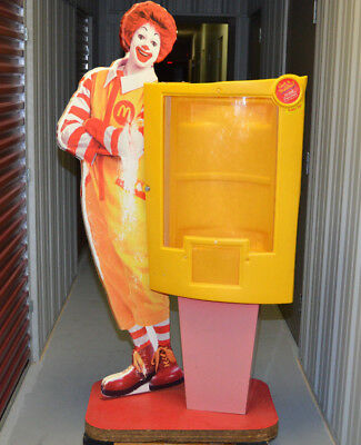 McDonalds Ronald McDonald store Toy display case for Happy Meal toys - Rare