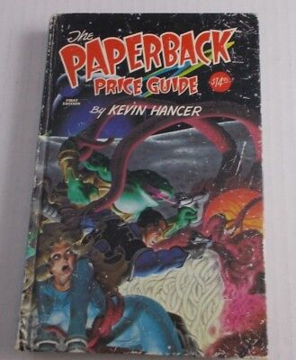 THE PAPERBACK BOOK PRICE GUIDE HARD COVER