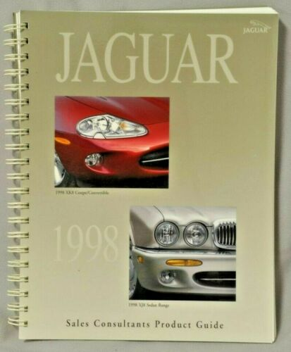 Jaguar 1998 Full Line Product Guide Spiral Bound for Dealers