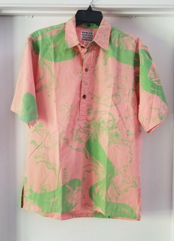 Vintage Nake'u Awai Hawaiian Shirt - Rare Design! sz L