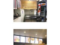 Running A5 Commercial Takeaway shop lease for sale in Acton. Rent £833 pcm Business rates zero.