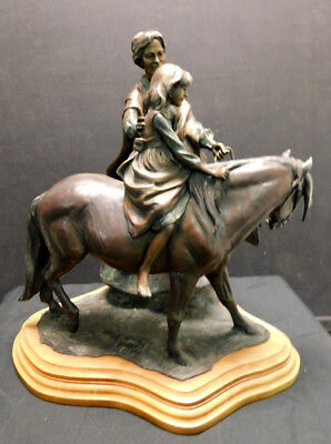 """Veryl Goodnight  Bronze sculpture """"The Birthday Pony"""" Hand Signed Make an Offer!"""