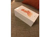 rose gold i phone 6S 64GB brand new - unopened in box - Colour rose gold