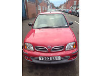 Nissan Micra Y reg AUTOMATIC in good working condition , 10 months MOT