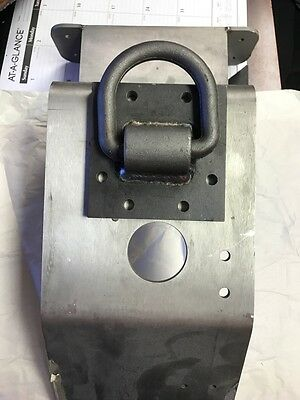 5/8 D Ring with Mounting Base Plate Heavy Duty for sale  New Smyrna Beach