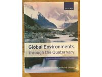 Global environments through the Quaternary, Anderson, Goudie and Parker 2007
