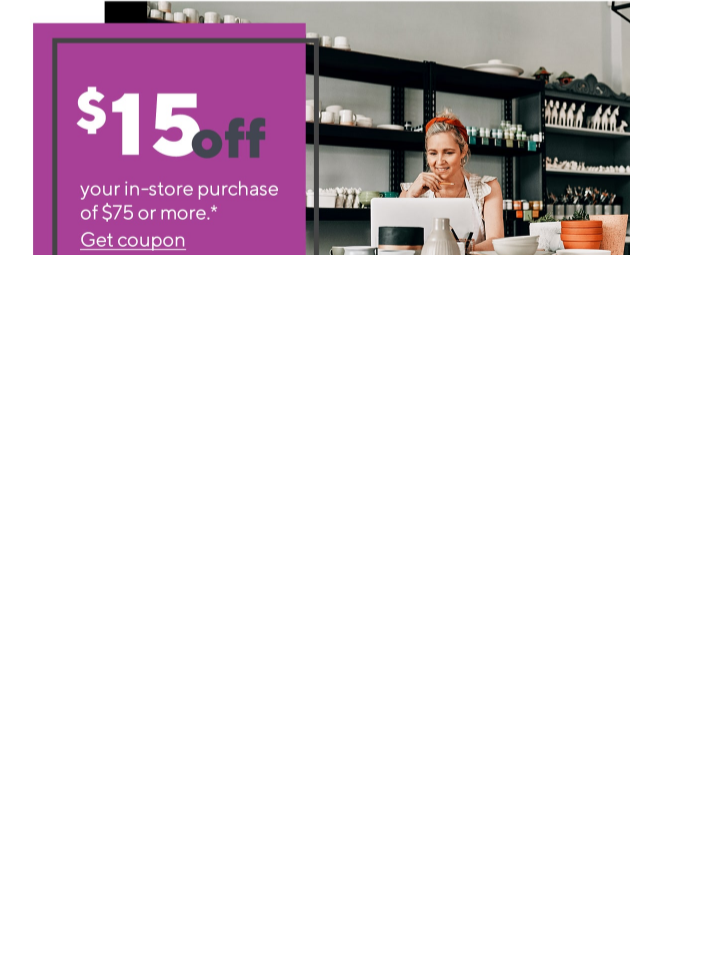 Staples Coupon 15 Off 75 In-store Expires 5/9 - $1.25