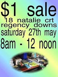 garage sale all items $1ea  8am - 12 noon Regency Downs Lockyer Valley Preview
