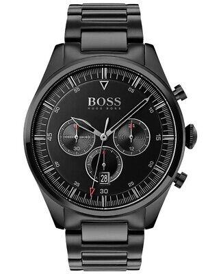 HUGO BOSS® watch Pioneer Lux Black Dial Bracelet Watch HB 1513714