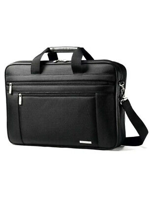 Samsonite Classic 17 inch 2 Gusset Business Black Briefcase