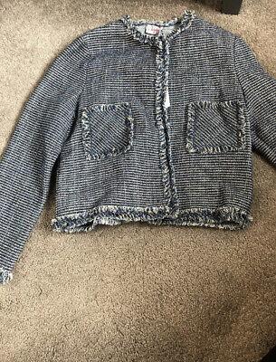 Il Gufo Girls Blue Jacket Age10