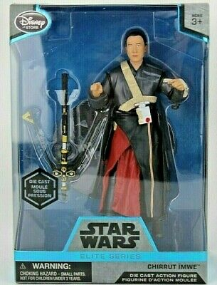 BNIB STAR WARS ELITE SERIES ELITE CHIRRUT IMWE DISNEY DIE CAST FIGURE ROGUE ONE