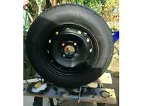 """New Michelin tyre 165/70R 13"""" off Peugeot 206"""