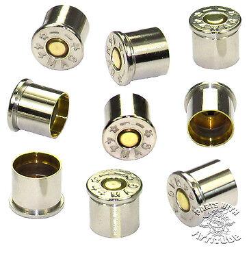 10 NICKEL 44 MAG METRIC BULLET BOLT CAPS for YAMAHA ROADSTAR & METRIC CRUISERS