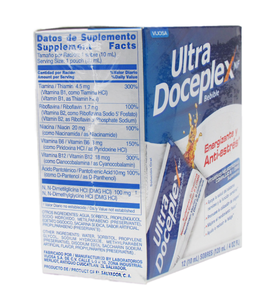 1 ULTRA DOCEPLEX ENERGIZANTE ANTIESTRES/ULTRADOCEPLEX ENERGY BOOSTER ANTI-STRESS 1
