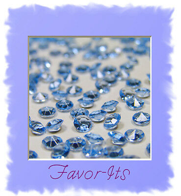10,000 Diamond Confetti 2/3 carat- Wedding Frozen Winter Theme Party Decorations