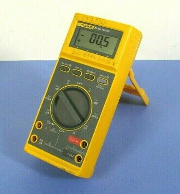 Fluke 27 Digital Multimeter Works Well