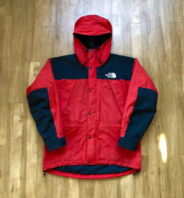 The North Face Vintage Gore-Tex Mountain Guide Jacket Red (Face Guide)