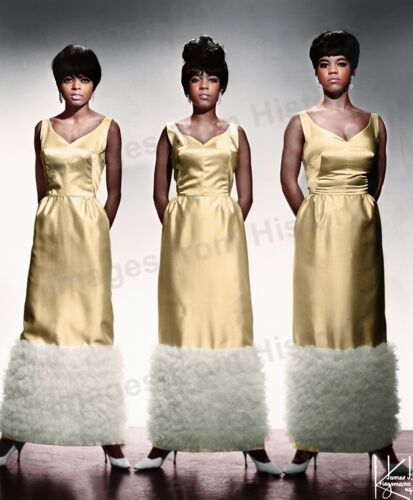 8x10 Print Diana Ross Mary Wilson Florence Ballard The Supremes Motown #3641