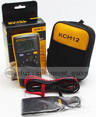 Fluke107kch12 Soft Case Palm-sized Portablehandheld Digital Multimeter F107