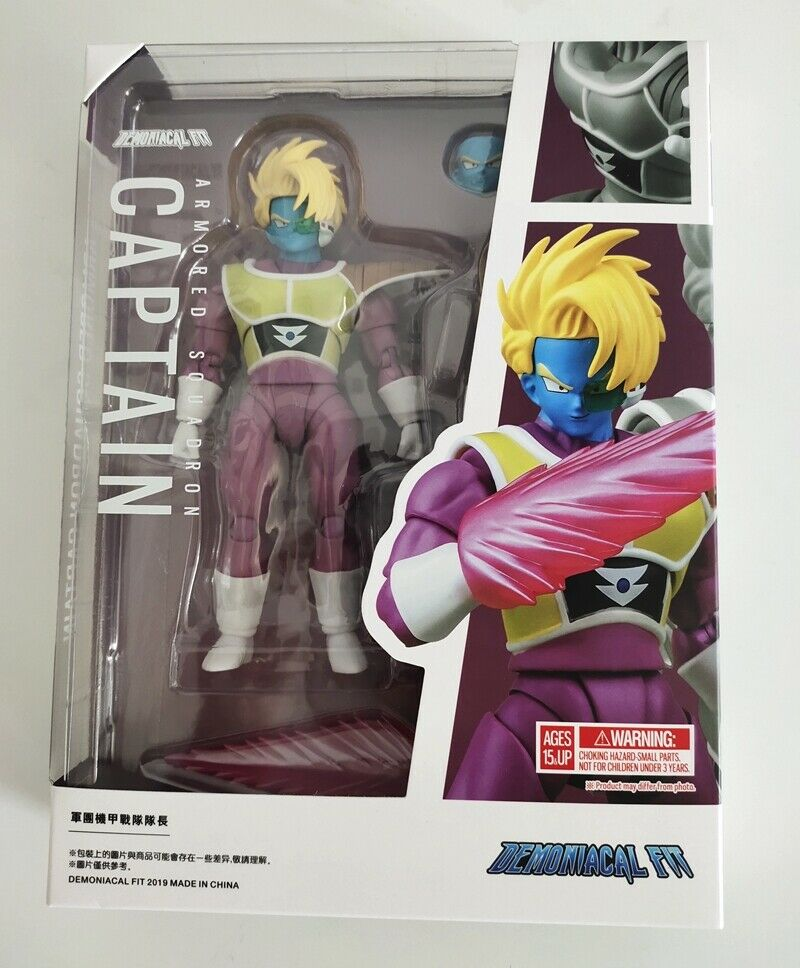 "Demoniacal Fit 6"" Dragonball Armored Squadron Captain Super Action Figure New HP"