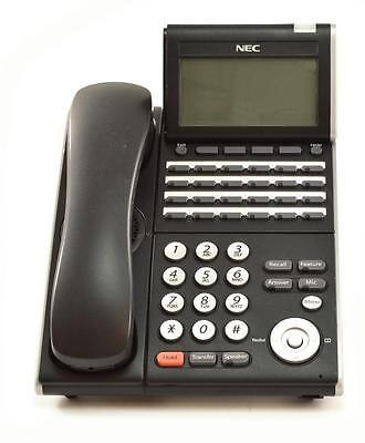 Fully Refurbished Nec Dt330 Dtl-24d-1 24 Button Display Digital Phone Black
