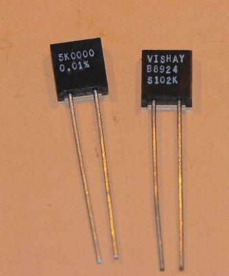 Vishay Foil Resistors S102k 5k .01 2pcs