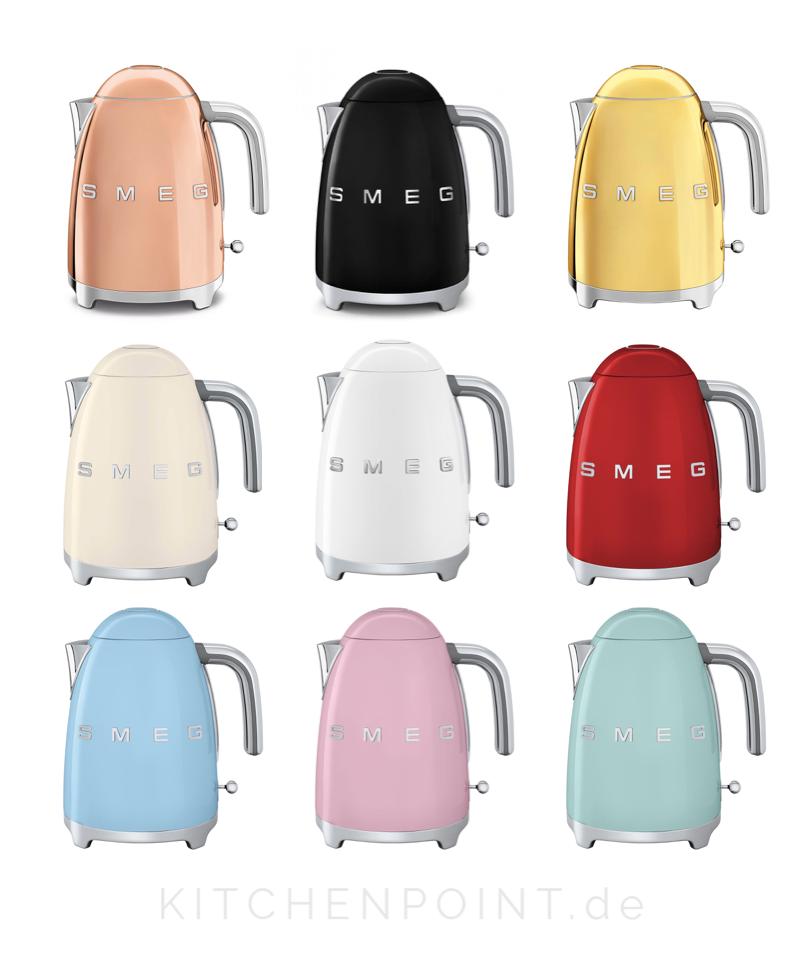 autorisierter SEMG Shop SMEG Wasserkocher und Toaster SET in ALLEN Farben